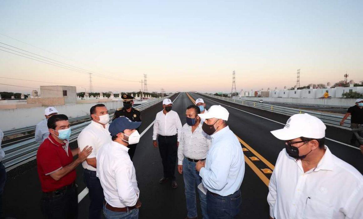 Inauguran Paso Superior Vehicular Avenida 70, invierten más de 122 mdp -  Noticias de Yucatán