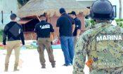 Le cae operativo de limpia a playa Langosta de Cancún