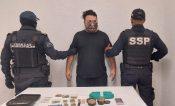 Detienen a sujeto con marihuana y equipo para distribuirla